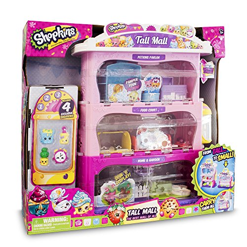 Shopkins - Tall Mall Playset - Outlet Mall Stl