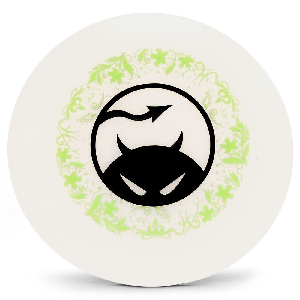 Daredevil Gamedisc Underprint Ultimate 175g Disc - Official Canadian Ultimate Disc - Clear w/ Lime Underprint