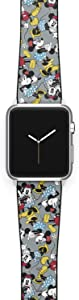 Watch Band Compatible with Apple iWatch All Series 38mm 40mm 42mm 44mm Cartoon Design Strap (mickey8) (42/44mm)