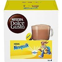 NESCAFÉ Dolce Gusto Nesquik, Bevanda al Gusto di Cioccolato, 3 Confezioni da 16 Capsule (48 Capsule)