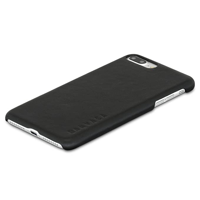 competitive price 70215 5eb09 KANVASA One Real Genuine Leather Back Case for iPhone 7 Plus Premium  Leather Luxury Pouch - Ultra Thin