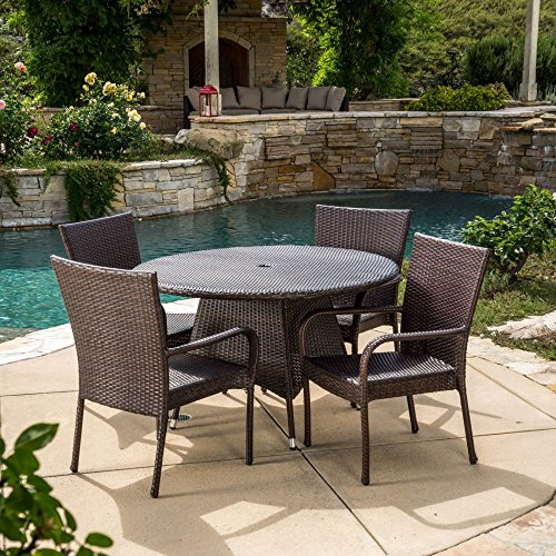Best Selling Home Decor Furniture Potter Wicker 5 Piece Round