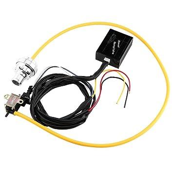 Válvula de Descarga Eléctrica Turbo Diesel Válvula del Descargar BOV Kit Simulador de Sonido: Amazon.es: Coche y moto