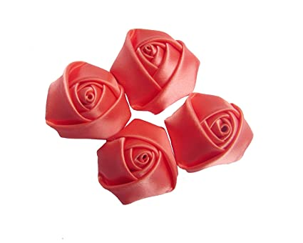 bb3006e6c9745 YYCRAFT Pack of 30 Satin 4d Rose 1.5