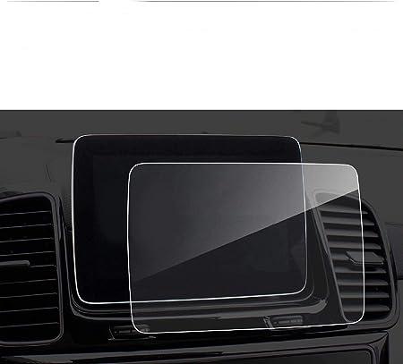 Lfotpp 8 Zoll Navigation Panzerglas Schutzfolie Für A B Klasse Amg Gps Navi Displayschutzfolie Auto