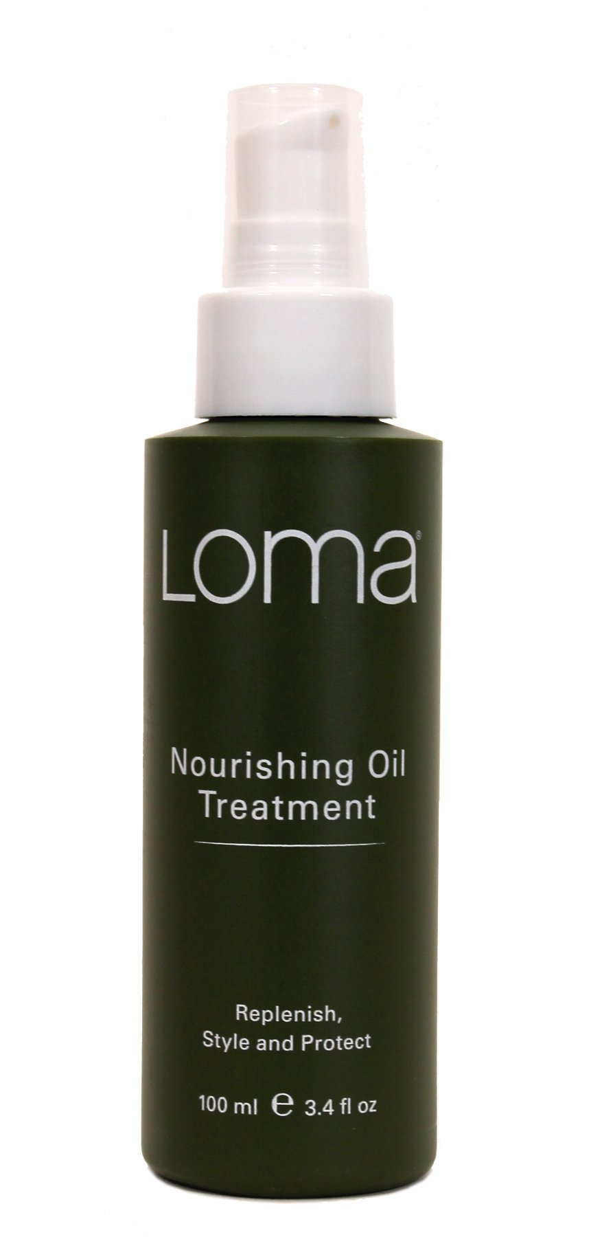 Loma Hair Care Nourishing Oil Treatment, Vanilla Bean/Orange, 3.4 fl. oz