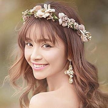 Surenhap Blumenkranz Haare Und Arm Haarschmuck Hochzeit