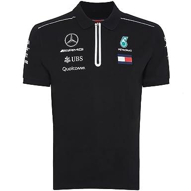 83710a547 Mercedes AMG ® F1 Puma Polo Zipper Sponsor Tommy Hilfiger 41181061-100 -  Distributeur approuvé
