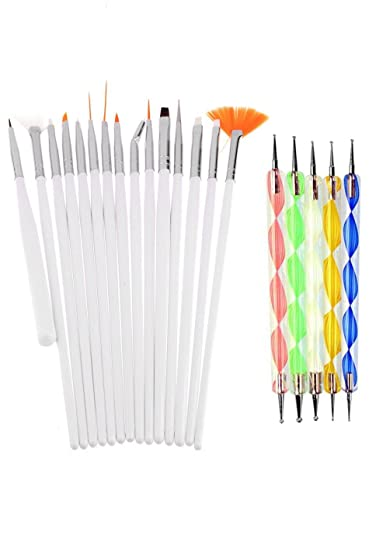 Buy lifestyle you combo offer of nail dotting marbelizing tool lifestyle you combo offer of nail dotting marbelizing tool set nail art brush set prinsesfo Gallery