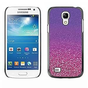 Paccase / SLIM PC / Aliminium Casa Carcasa Funda Case Cover - Gold Purple Copper Bling - Samsung Galaxy S4 Mini i9190 MINI VERSION!