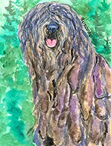 Caroline's Treasures SS1048CHF Bergamasco Sheepdog Flag Canvas, Large, Multicolor