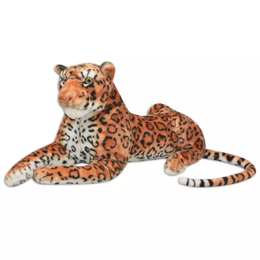 opciones a bajo precio Ghuanton Leopardo de Peluche marrón XXLJuegos y y y Juguetes Juguetes Muñecas, Parques Infantiles y Figuras de Juguete Animales de Peluche  venta al por mayor barato