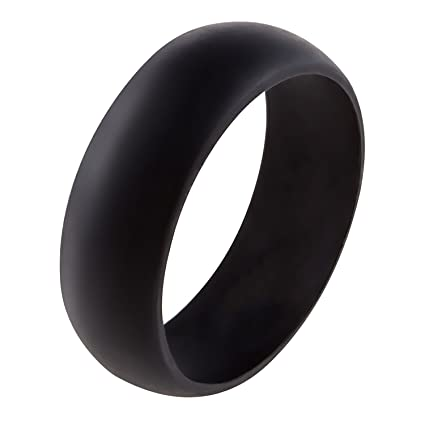 Amazoncom Silicone Wedding Ring Band for Men or Women Safe
