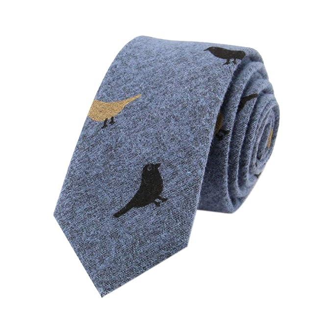 JUNGEN Corbata de Informal para Hombres Corbata de Estampada de ...
