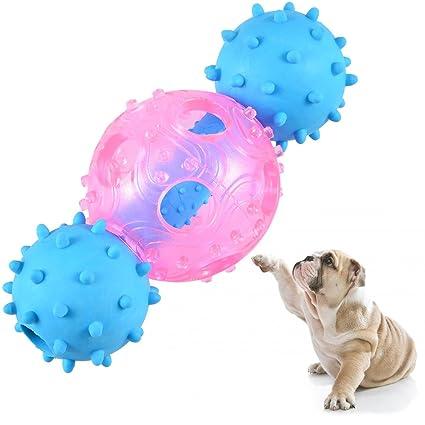 Petacc porta golosinas para perros, bola de entrenamiento para perros, juguete mordedor para perros
