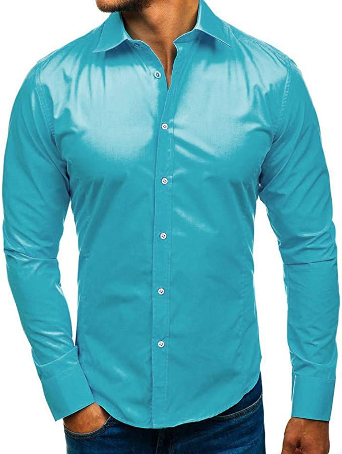 Herrenhemd M L XL XXL langarm Herren Business Hemd verschiedene Farben