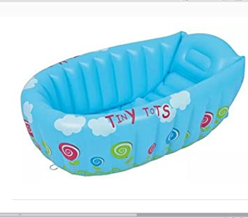 Amazon.com: Bebé tina, Portable Mini aire inflable piscina ...