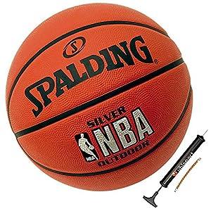 Spalding Basketball für Kinder und Erwachsene Outdoor Street Ball inklusive...