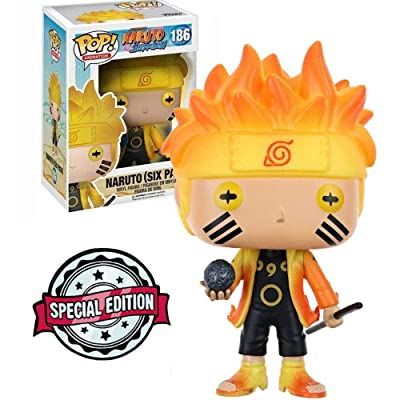 Funko POP! Naruto (Six Path) Glow In The Dark #186: Toys & Games