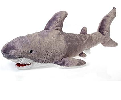 Amazon Com 29 5 Large Shark Plush Stuffed Animal Toy By Fiesta