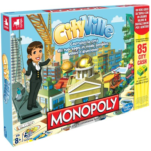 (Hasbro Monopoly Cityville Board Game (in Italian) [Imported from Italy])