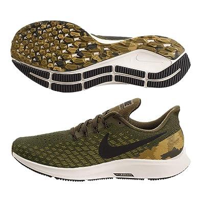 1a7c8dba2d45 Nike Men s Air Zoom Pegasus 35 GPX Olive Canvas Black Light Orewood Brown  Size