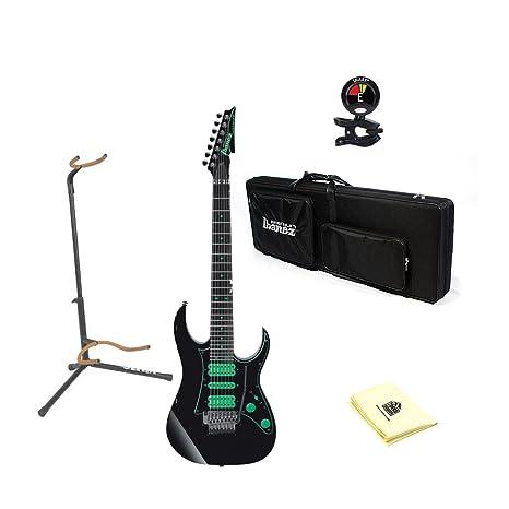 Ibanez uv70p Premium Steve Vai Universo (7 cuerdas Guitarra eléctrica en color negro (suave