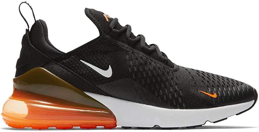 Zapatillas NIKE Air MAX 270 Negro/Blanco/Naranja: Amazon.es: Zapatos y complementos