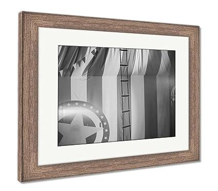 Amazon.com: Ashley Framed Prints Vintage Circus Arena, Wall Art Home ...