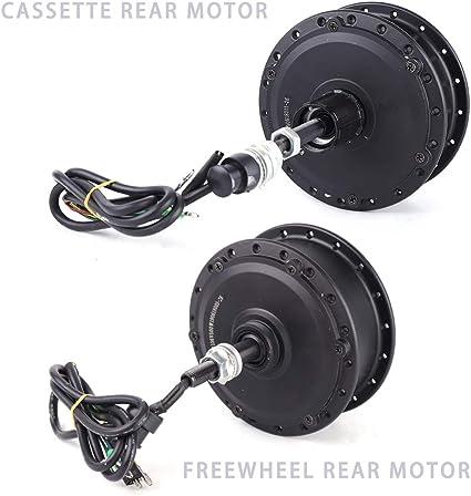 Amazon Com Tuqi 36v 500w Brushless Gear Hub Motor Cassette Rear Motor Freewheel Rear Motor For Electric E Bike Conversion Kit Cassette Rear Motor Sports Outdoors
