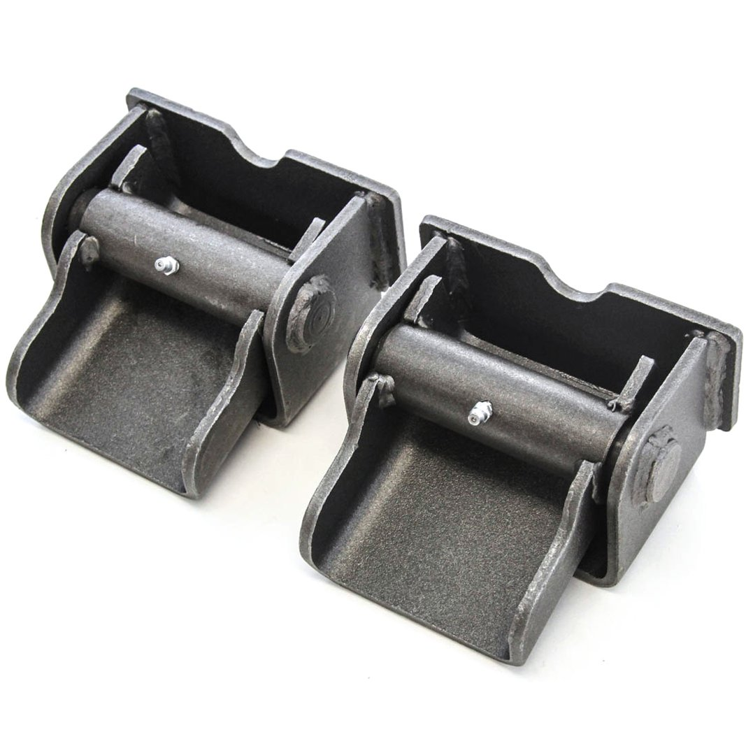 Red Hound Auto 2 Dump Truck Trailer Body Hinges Solid Steel Heavy Duty Grease Fitting Weld On by Red Hound Auto