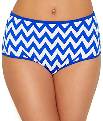 8c5c7916de183 Freya Making Waves High Waist Bikini Brief - Cobalt  Amazon.co.uk  Clothing