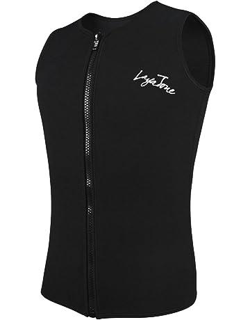 29f8ade6cec Layatone Wetsuit Top Men Women Premium 2mm 3mm Neoprene Diving Suit Vest  Sleeveless Canoeing Surfing