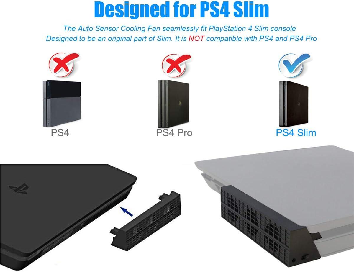 Nueva edición] PS4 Slim Turbo refrigerador ventilador de ...