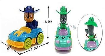 Shreeja Collections Friction Car Set - Cartoon Cars Set of 4 Pup Theme Car Set