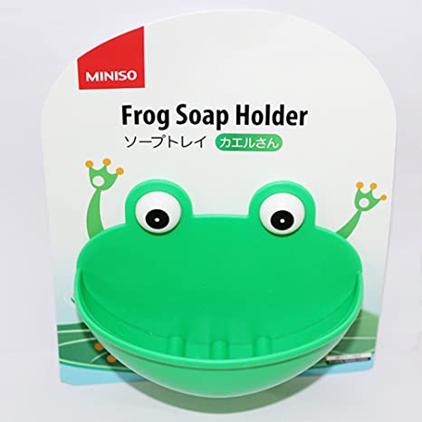 894707b26 Miniso Frog Soap Holder  Amazon.in  Home   Kitchen
