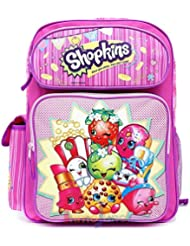 Shopkins Large School Backpack 16 Girls Book Bag