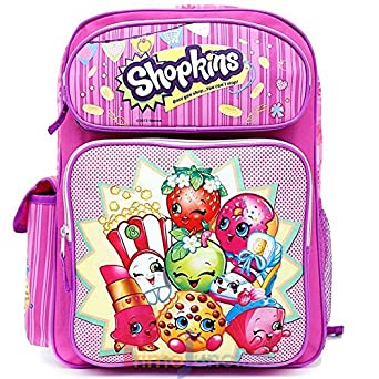 Amazon.com | Shopkins Large School Backpack 16
