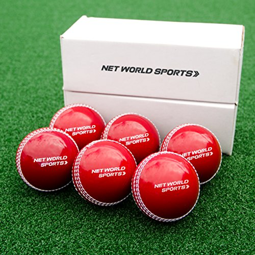 (Fortress 'Incrediball' Cricket Practice Balls | Realistic Safety Cricket Ball for Training [Pack of 6])