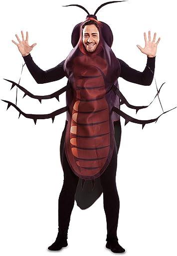 EUROCARNAVALES Disfraz de Cucaracha para Adultos: Amazon.es ...