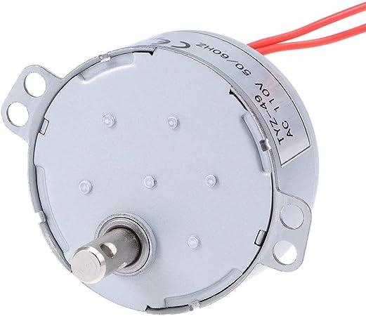 ZealMax Motor síncrono AC 110V 50 / 60Hz 10RPM CW/CCW Torque ...