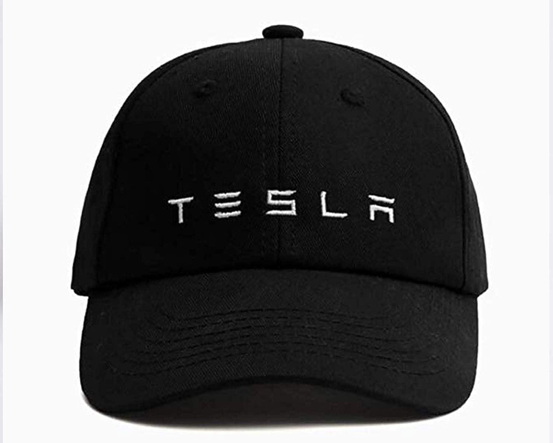 Amazon.com  Tesla Kid s Logo Hat Black  Clothing a44156e9baf