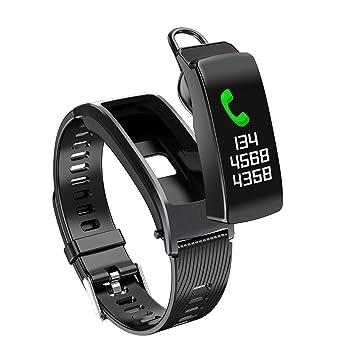 Pulsera de Actividad Reloj Inteligente con Pulsómetro y Presión ...