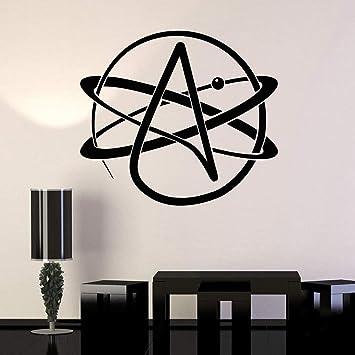 Átomo Ateísmo Religión Ciencia Gran Vinilo Tatuajes de pared ...