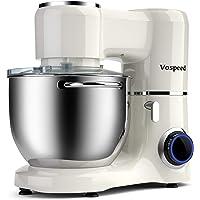 Batidora amasadora Vospeed 1500W 8L batidora para reposteria de la torta del mezclador eléctrico de cocina batidora con…