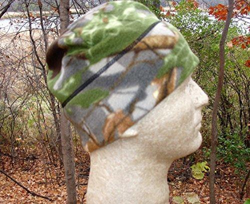 - Advantage Camo Camoflauge Timber Leaf Fleece Watch Cap Hunting Cap Outdoor Gear