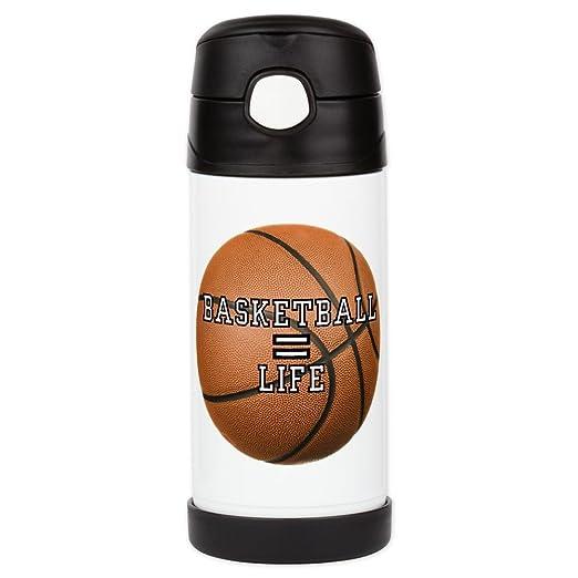 Bebidas botella de agua aislante de baloncesto equivalen a vida ...