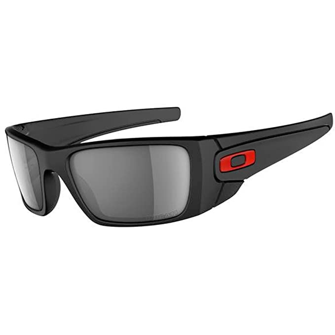 bb714bc17f Oakley Wrap Sunglasses (Black) (OO9096-44-FBA): Oakley: Amazon.in: Clothing  & Accessories
