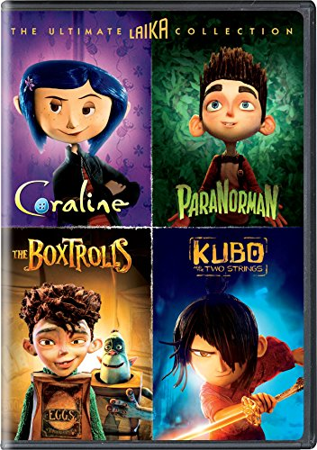 The Ultimate Laika Collection (Coraline / ParaNorman / The Boxtrolls / Kubo and the Two Strings)]()