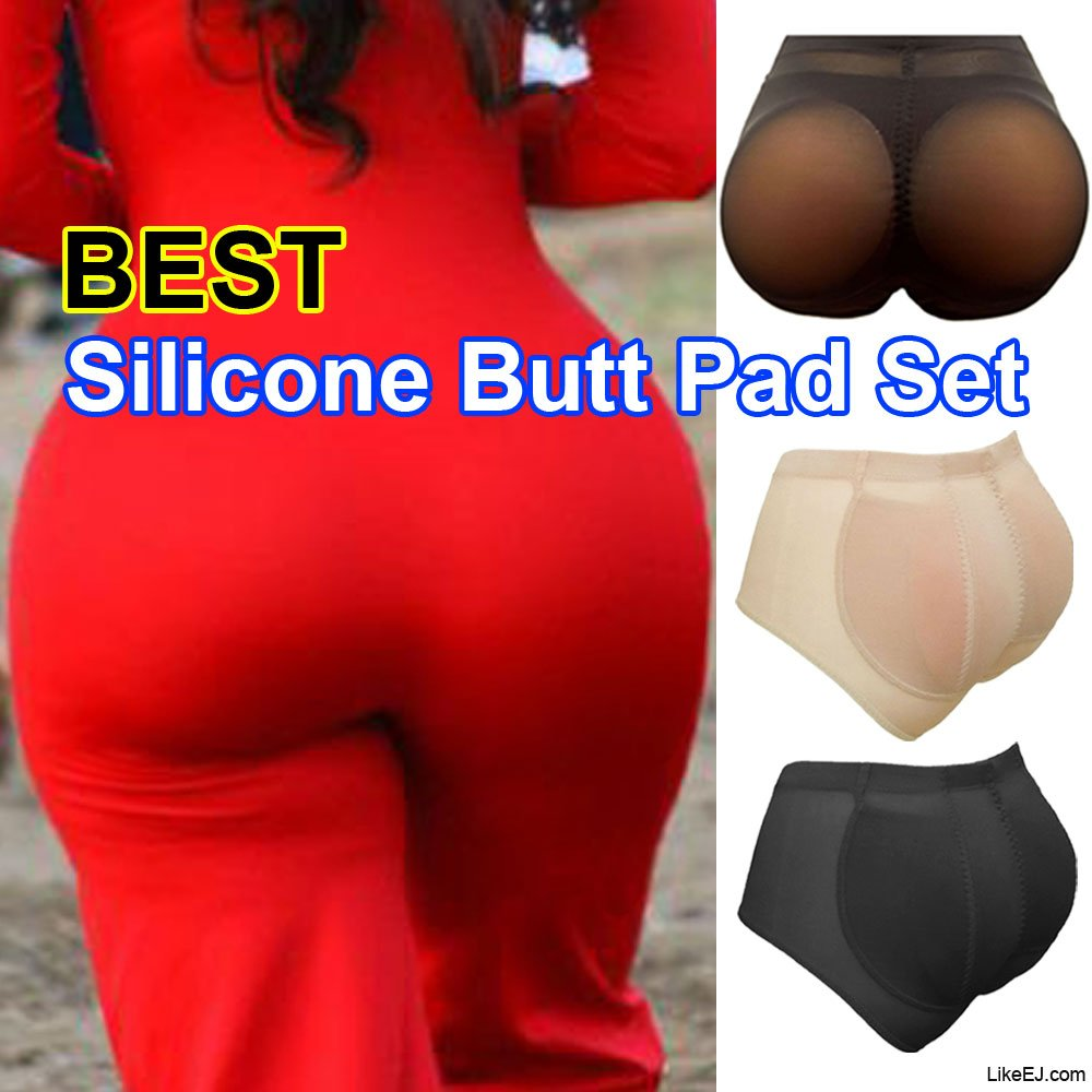 fc46a74cc Big Silicone Butt Padded Buttocks Enhancer Body Shaper Push Up Panty Set at  Amazon Women s Clothing store